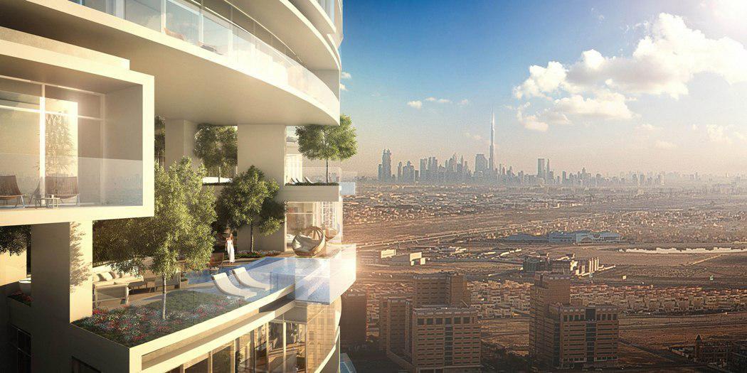 penthouses at JVC